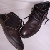 Ботинки Gallus кожа осень зима 45р - 29см, сток Германия