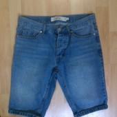 Фирменные джинсовые шорты 30 р.