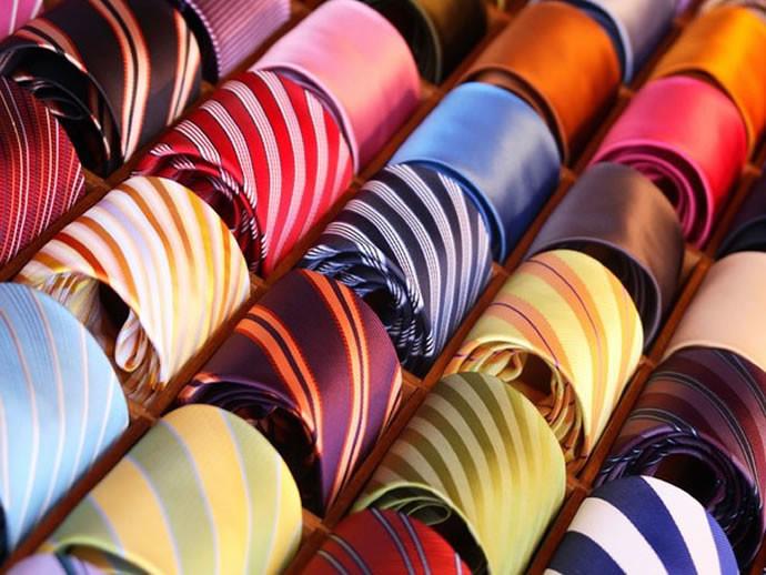 Шелковые галстуки фото №1