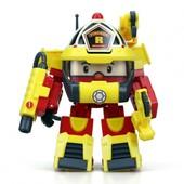 Robocar Poli Рой Трансформер в костюме супер-пожарного