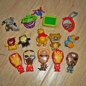 Набор игрушек из Киндера, все что на фото, б/у