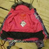 Крутенная лыжная куртка на девочку рост 152