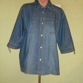 Джинсовая рубашка бренда Cecil