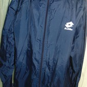 Спортивная фирменная ветровка курточка бренд Lotto л-хл.
