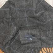 Tommy Hilfiger тёплый шарф 100% шерсть