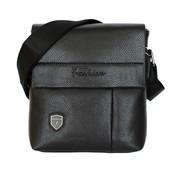 Компактная стильная мужская сумка через плечо (7685-1)