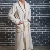 Мужской махровый халат, банный