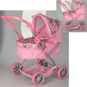Детская коляска для кукол 9680