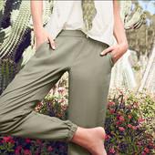 Шаровары, брюки хаки, tcm, tchibo,  евро р-р 46, наш р-р 52, 100% лиоцелл