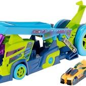 Hot Wheels Грузовик-пускатель молниеносные половинки split speeders х-blade rig vehicle