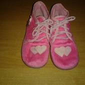Деми ботиночки с сердечками, стелька 14,5-15