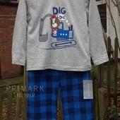 Sale. Трикотажная пижама для мальчика (86 см) Primark. Читать описание!