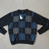 Фирменный комбинированный свитер Dockers