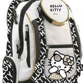 Рюкзак эксклюзив ортопедический Hello Kitty для девочки средняя школа