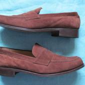 Aida (43, 27,5 см) замшевые туфли лоферы мужские