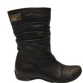 Женские кожаные ботинки Натуральная кожа и мех