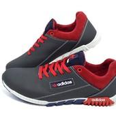 Кроссовки Мужские Adidas Black Red