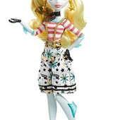 Monster High shriekwrecked nautical Ghouls Lagoona Blue doll