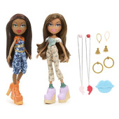 куклы Bratz 2 Pack  Yasmin and Sasha Dolls