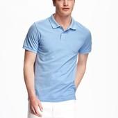 Тенниска футболка Old Navy размер L Tall для высоких поло голубая