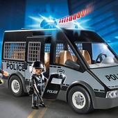 Новый Бронированный фургон с полицейскими Playmobil 6043. Оригинал