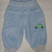 штаны велюровые на 2-4 мес
