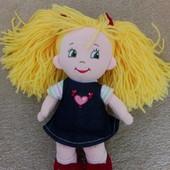 Кукла мягкая, 30 см состояние новой