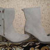 замшевые ботинки Tamaris (Тамарис) 27см