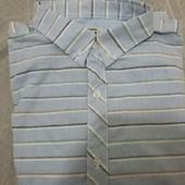 Хлопковая рубашка от ТСМ-Такко (германия), размер Л наш 50
