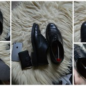 Кожаные туфли-оксфорды на широкую ногу Next ,р-р 43-44 Стелька 28,5 340 грн