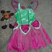 Платье новогоднее  на 5-6 лет