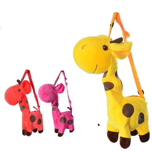 Сумочка жираф, плюшевая фото №1