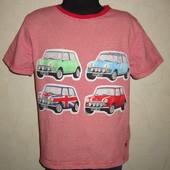 На 7-8 лет Классная футболка Monsoon мальчику