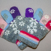 Перчатки на 1-2,5 года
