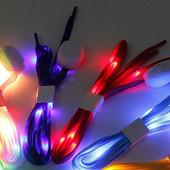 Светящиеся шнурки, с Led подсветкой УП 12