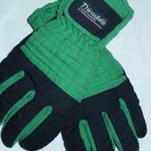 Теплые тканевые перчатки,р-р 8,подросток или небольшая взрослая рука