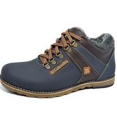 Ботинки кожаные зимние Columbia Wave Blue