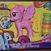 Набор для лепки пони my little pony Play Toy аналог play doh