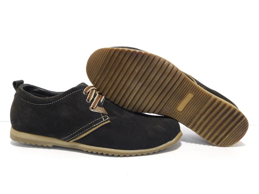 Туфли Hopper, р. 40-45, натур. замша, код gavk-2233 фото №1