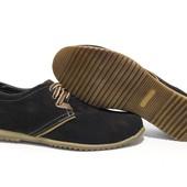 Туфли Hopper, р. 40-45, натур. замша, код gavk-2233
