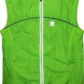 Вело желетка яркая со светоотражателями зеленая Karrimor 8 M S