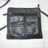 Женская кожаная сумка через плече Visconti