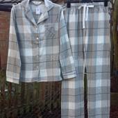 Женская байковая пижама. Размеры S, М . Primark