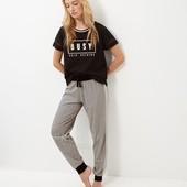 Женская трикотажная пижама ( S) New Look