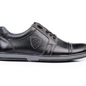 Туфли Мужские Кожаные (152ч)