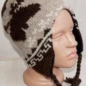 Зимняя шапка шерсть и флис route 66 США