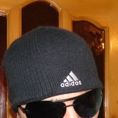 Стильная спортивная шапка шапочка оригинал Adidas.55-57
