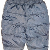 штаны зимние стёганные на 6-9 мес