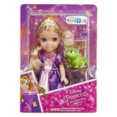 "Princess petite Rapunzel 6"" doll with Pascal кукла Рапунцель с паскалем"