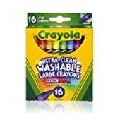 Восковые карандаши Crayola оригинал ультра-чистое смывание